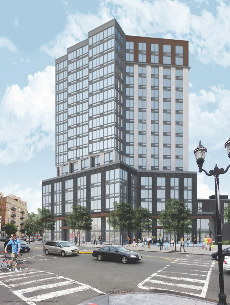 16-Story Project Revealed At 711 Montgomery Street, Jersey City