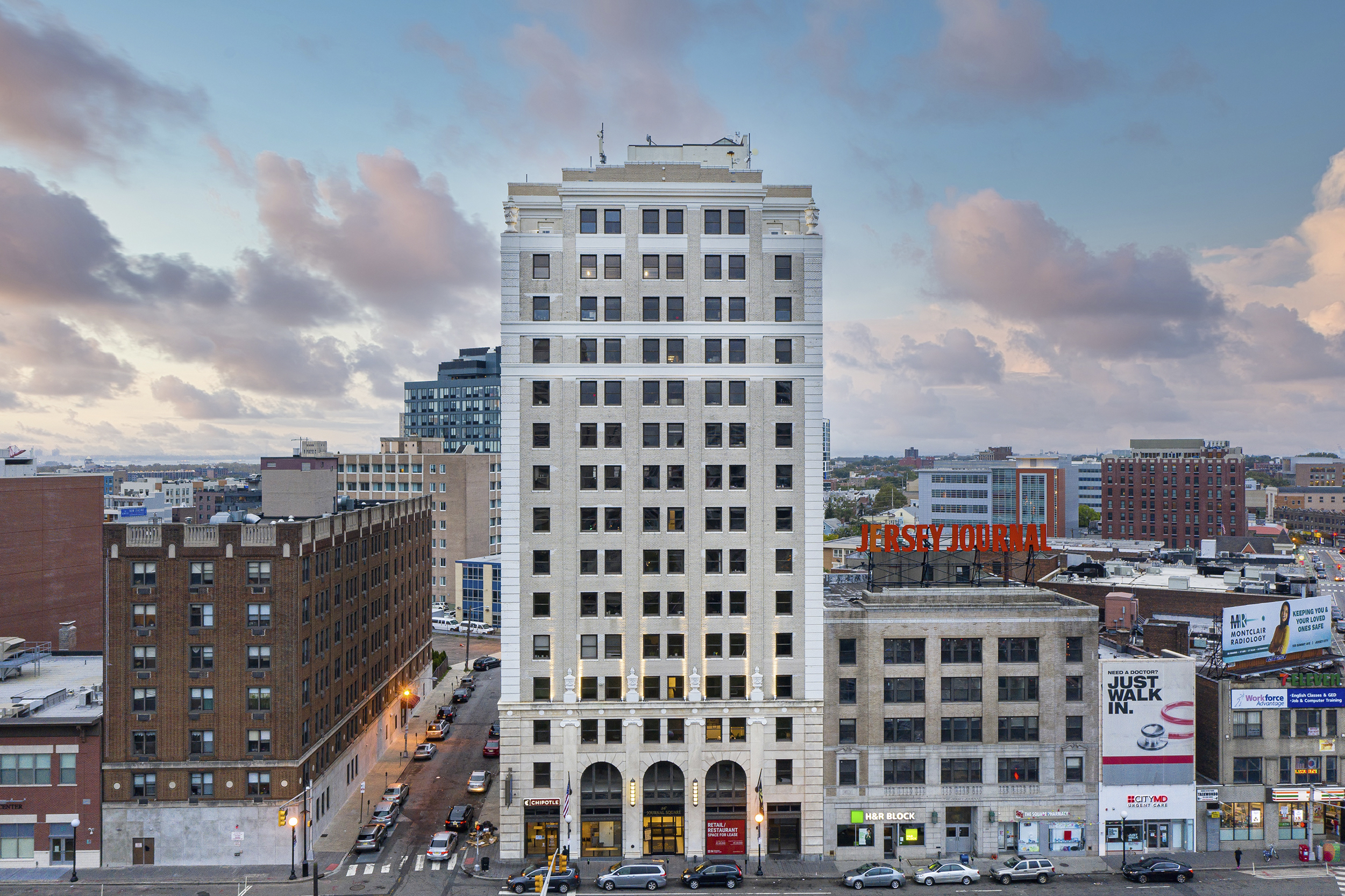 Plan would transform old Jersey Journal building in Jersey City